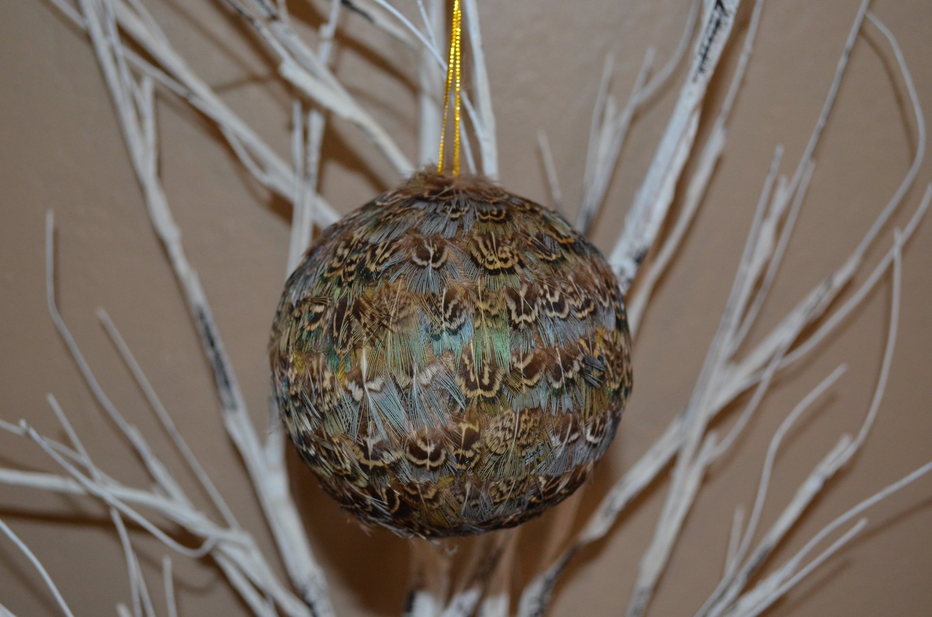 "4"" Ball ornament-BLUE"