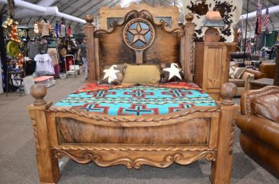 KING Rope, Star, Hide Bed $3373
