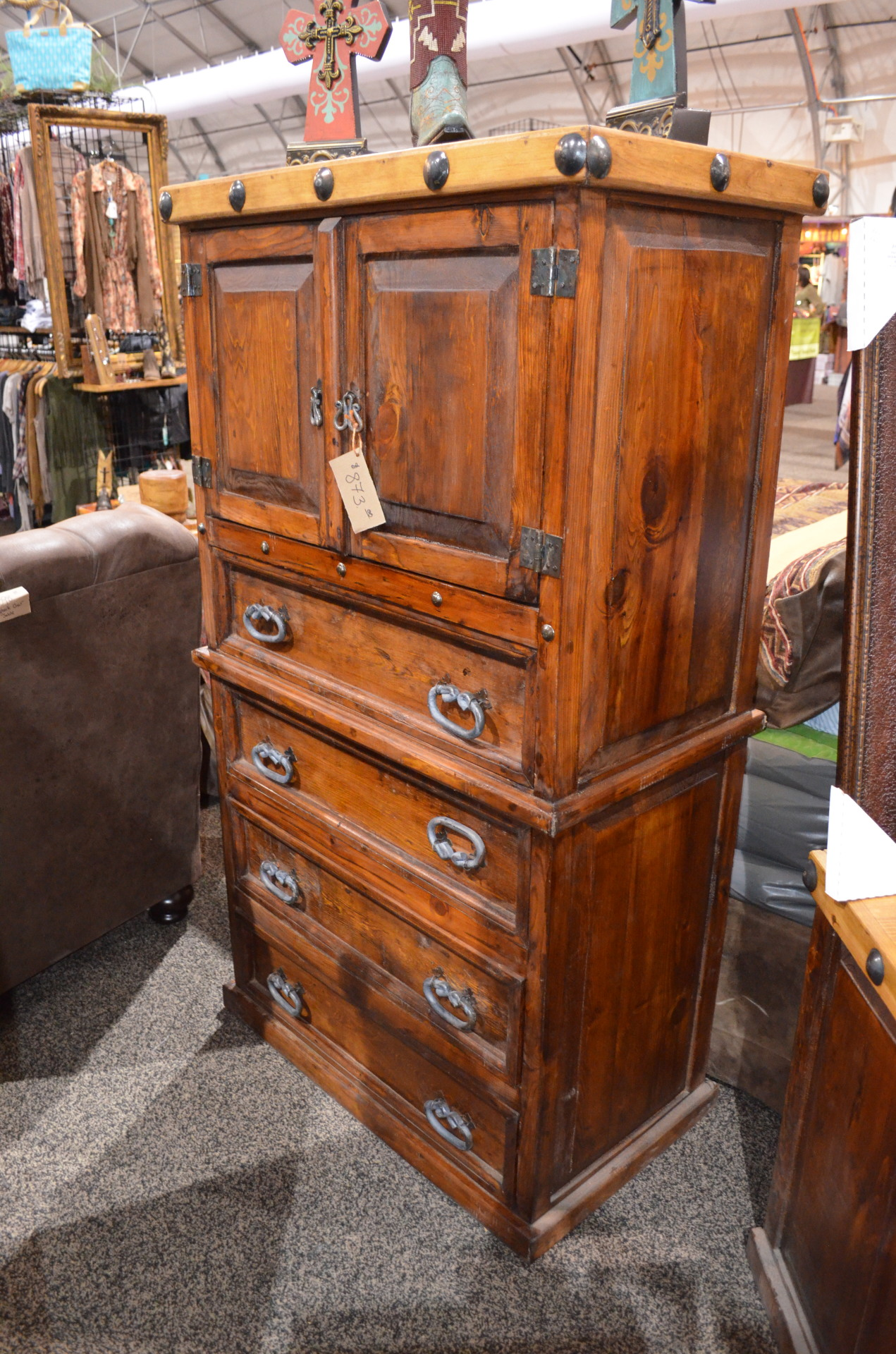 Don Carlos Nogal/Walnut Chest $873